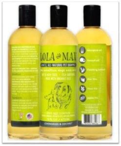 Lola and Max Organic, All Natural Pet Shampoo