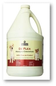 10. Natural Chemistry De Flea Concentrate Flea and Tick Shampoo