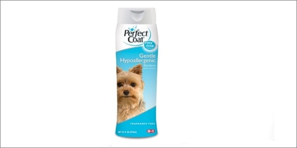 perfect coat hypoallergenic dog shampoo