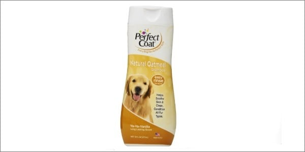 perfect coat natural oatmeal dog shampoo