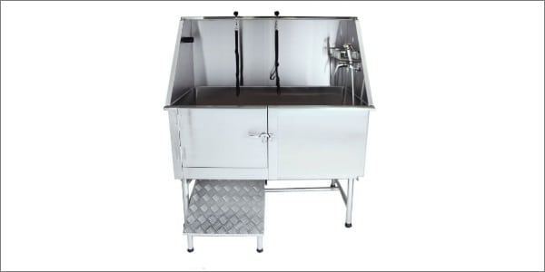 Flying Pig Grooming Professional Stainless Steel Bath Tub