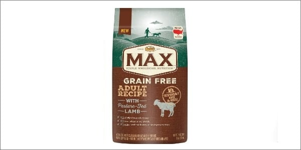nutro max grain free dog food