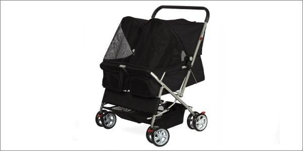 OxGord Pet Twin Double Stroller