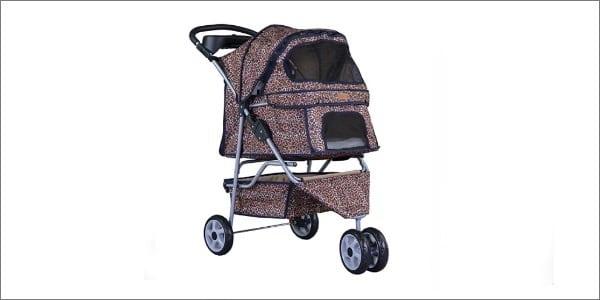 AllTerrain ExtraWide 3 Wheels Pet Stroller