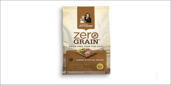 Rachel Ray Nutrish Zero Grain Natural Dry Dog Food