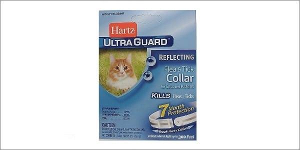 Hartz UltraGuard Flat & Tick Reflective Collar for Cats