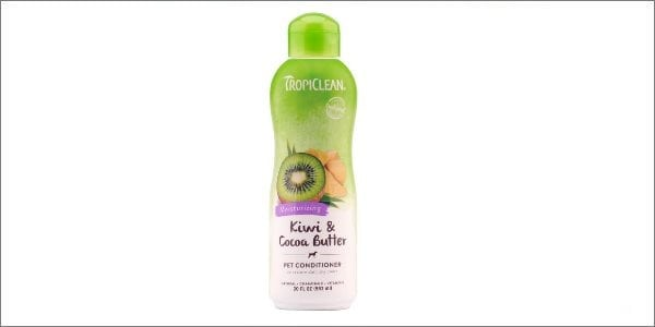 TropiClean Kiwi and Cocoa Butter pet conditioner