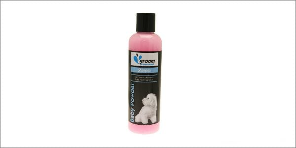 groom professional dog shampoo