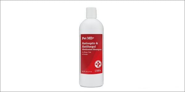 Pet MD antifungal dog shampoo