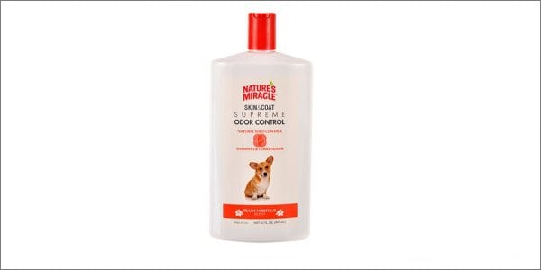 Nature's Miracle Odor control shampoo