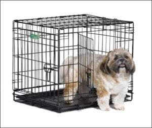 Midwest iCrate Folding Small Metal Dog Crate