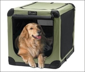 NOZTONOZ Sof-Krate Indoor and Outdoor Dog Crate