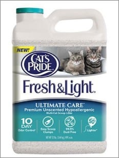 fresh & light cat litter
