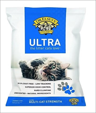 precious cat ultra premium clumping cat litter product