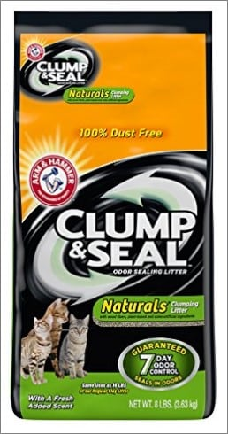 arm & hammer clumping cat litter