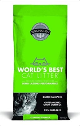 worlds bet cat litter