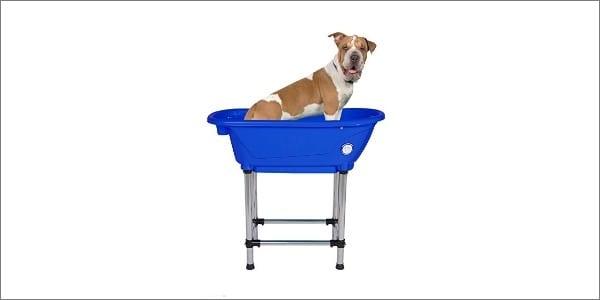 lying Pig Pet Dog Cat Washing Shower Grooming Portable Bath Tub
