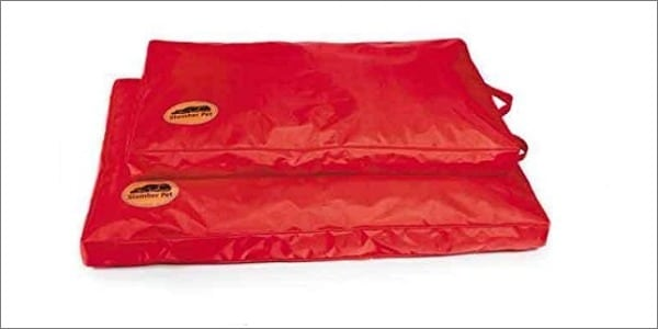 Red Heavy Duty Chew Resistant Dog Bed