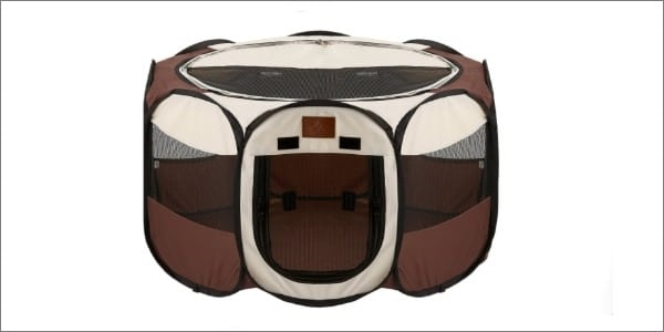 Parkland Pet Foldable Exercise Kennel
