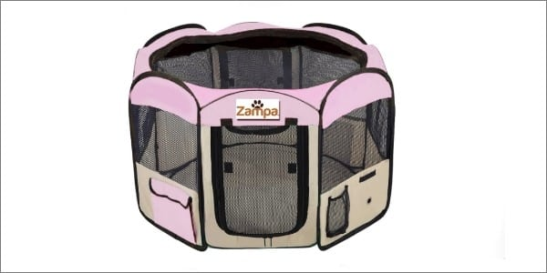Zampa Portable Exercise Kennel