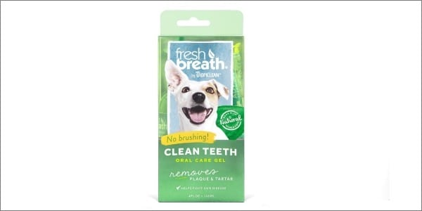 Tropiclean Fresh Breath Plaque Remove Gel