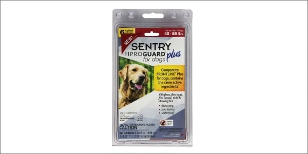 Sentry Fiproguard Plus for Dogs