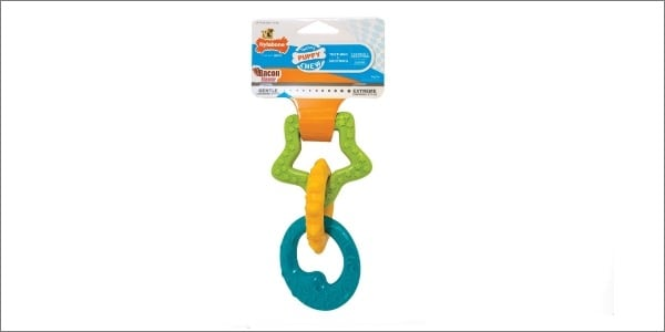 Nylabone puppy ring toy