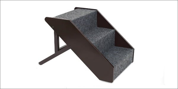 Adjustable Pet Steps Espresso