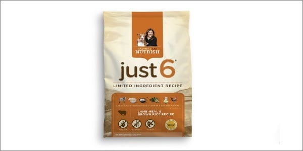 Rachel Ray Nutrish Just 6 Natural Dry Dog Food