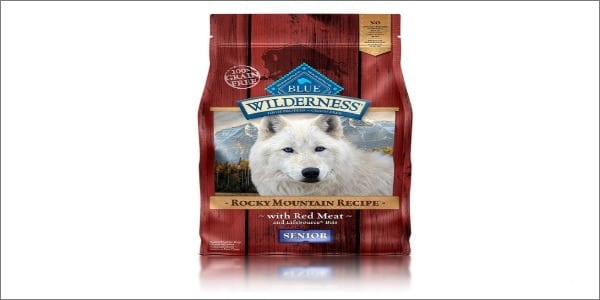 Blue Buffalo Wilderness Rocky Mountain Recipe Dry Senior Dog Food